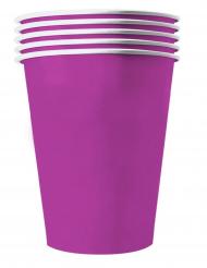 20 Amerikanske kopper miljøvenlig karton 53 cl -lilla