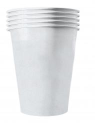 20 Amerikanske kopper miljøvenlig karton 53 cl - hvid