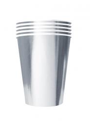 20 Amerikanske kopper miljøvenlig karton 53 cl - sølv