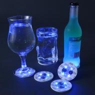 Drinksbrik 4 stk LED