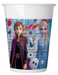 8 plastikkopper Frozen 2™ 200 ml