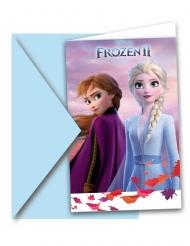 6 Invitationskort med kuvert Frost 2™