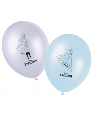 8 Latex balloner Frozen 2™ 28 cm