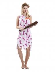 Hulekvinde kostume lyserød - kvinde