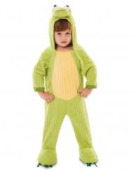 Heldragt lille frø kostume barn