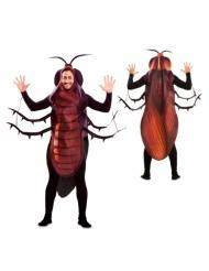 kakkerlak kostume - voksen