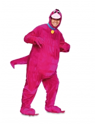 Nuttet lyserød dinosaur kostume - voksen