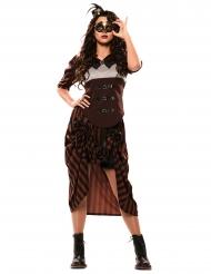 Steampunk cow girl kostume - kvinde