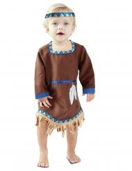 Lille indianer kjole kostume - baby