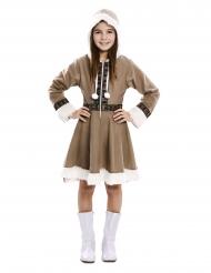 Eskimo kjole pige