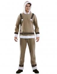 Eskimo kostume - mand