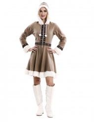 Eskimo kjole kostume - kvinde