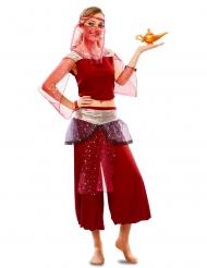 Oriental danserinde kostume rød - kvinde