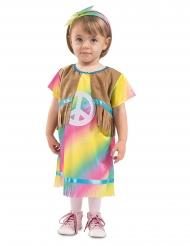 Lille hippie kjole kostume - baby
