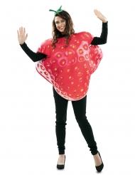 Stort jordbær kostume - voksen