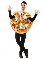 Pizza kostume - voksen