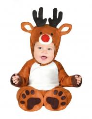 Lille rensdyr kostume baby