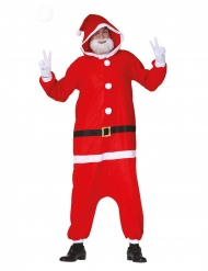 Julemands pyjamas heldragt voksen
