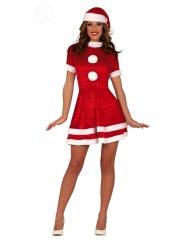 Sexet julemandes kone kostume kvinde