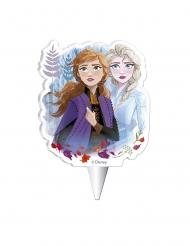 Fødselsdag stearinlys Frost 2™ 7,5 cm