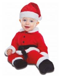 Julemands kostume heldragt baby