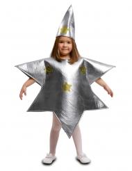 Sølv stjerne kostume barn