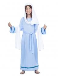 Jomfru Maria blå til pige