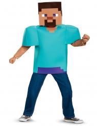 Klassisk Steve Minecraft™ Kostume - Barn