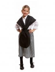 Kostume 1800-tallet pige