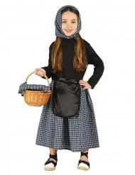 kastanje sælger kostume pige