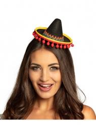 Mini mexicansk sombrero - voksen
