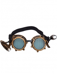 Steampunk briller med lys - voksen