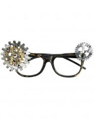 Nedslitte steampunk briller - voksen