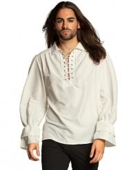Pirat skjorte hvid - mand