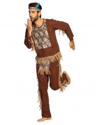 Vis indianer kostume - mand