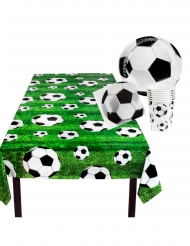 Sæt med engangsservice Football 25 dele