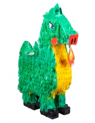 Piñata grøn drage 49 x 47 cm