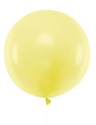 Kæmpe latex ballon 60cm - Gul