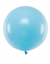 Kæmpe latex ballon 60cm - Blå