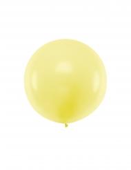 Kæmpe latex ballon 1m - Gul