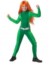 Spion kostume grøn - pige