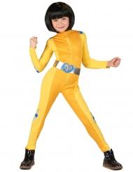 Spion kostume gul - pige
