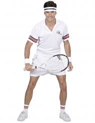 Tennisspiller kostume - voksen