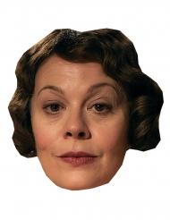 Helen McCrory maske i karton