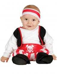 Pirat kostume - baby