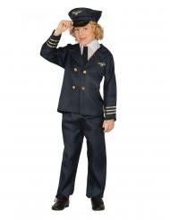 Pilot kostume - dreng