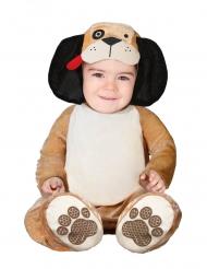 Lille brun hund kostume - baby