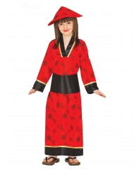 Kimone rød kostume pige!