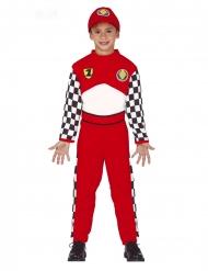 Racer kører kostume dreng
