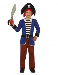 Piratkostume striber - dreng